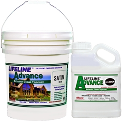 Lifeline Advance clear wood finish